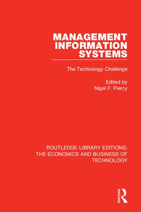 Management Information Systems: The Technology Challenge: 1st Edition (Hardback) book cover
