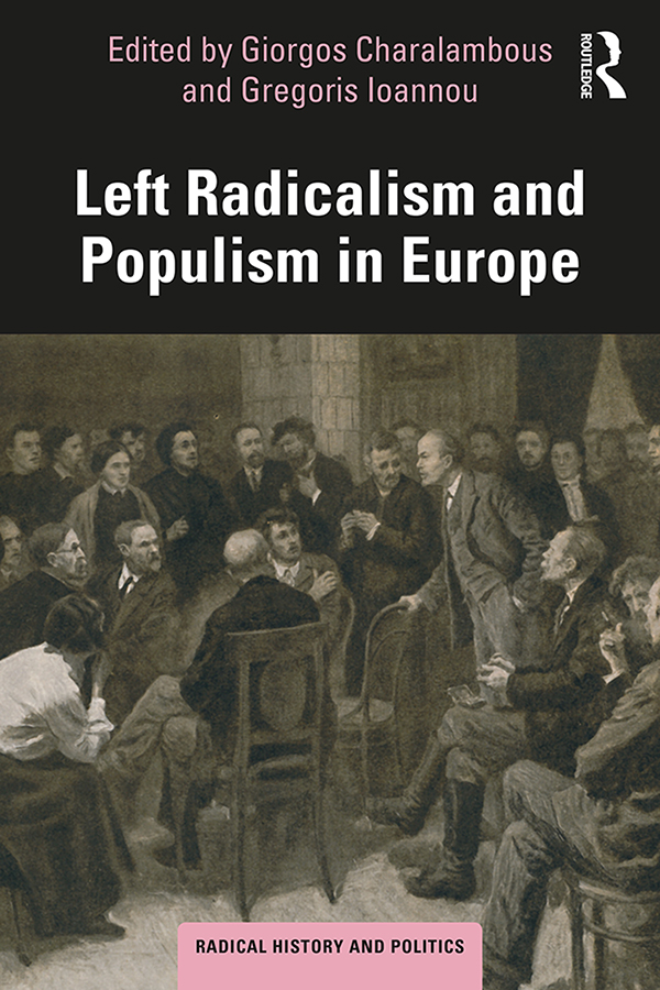 Left Radicalism and Populism in Europe book cover