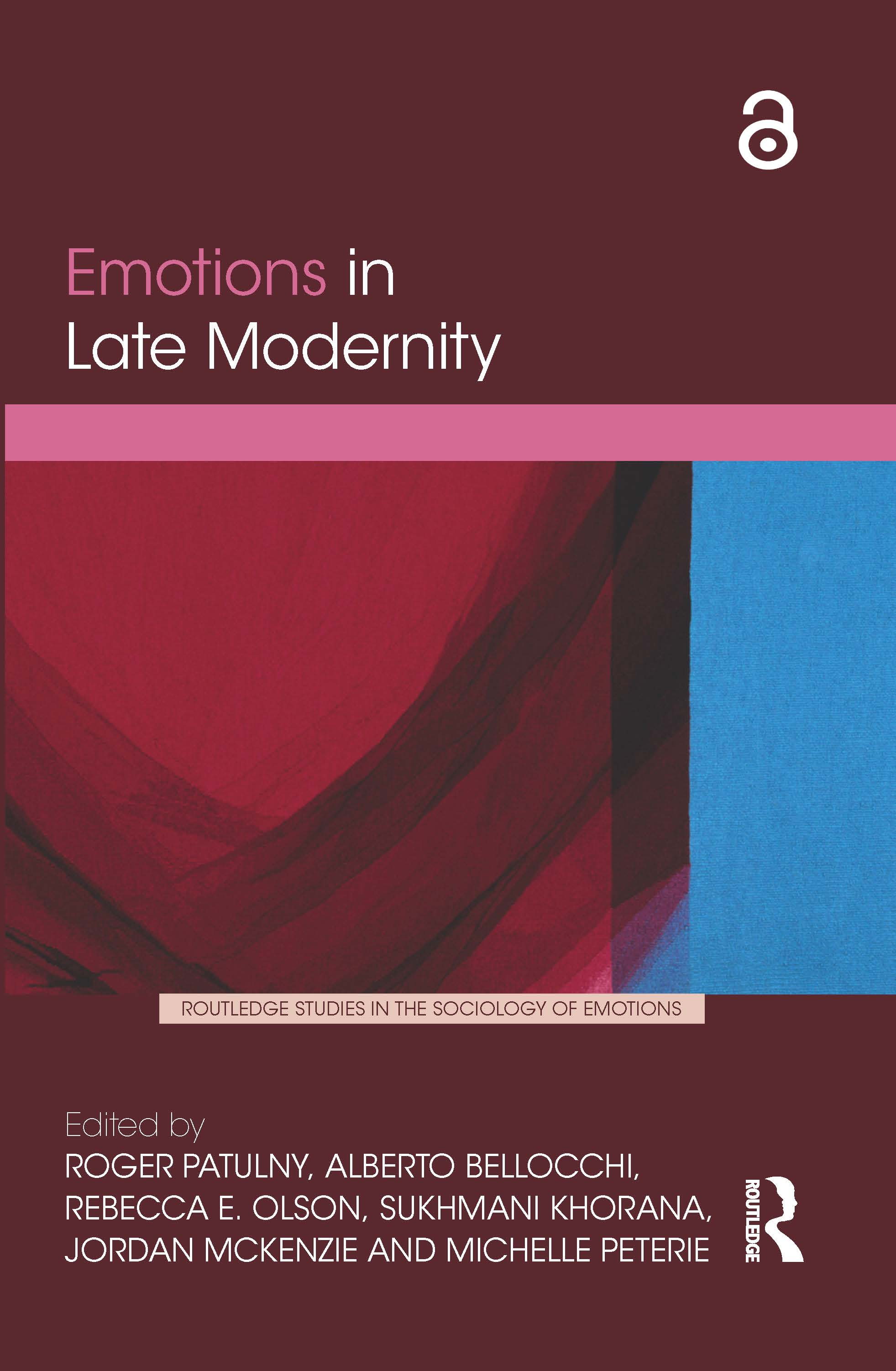 Emotions in Late Modernity: 1st Edition (Hardback) book cover