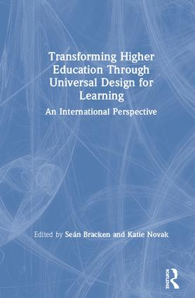 Transforming Higher Education Through Universal Design for Learning: An International Perspective book cover
