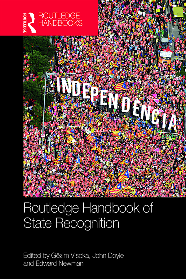 Routledge Handbook of State Recognition book cover
