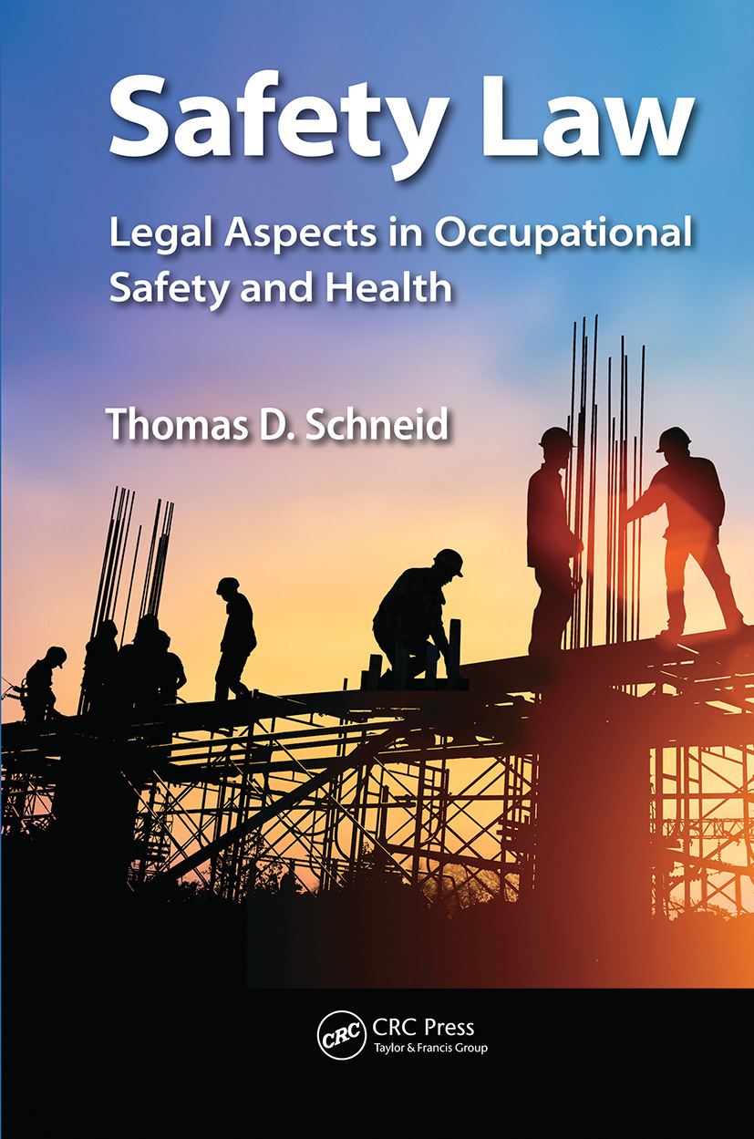 Safety Law: Legal Aspects in Occupational Safety and Health book cover