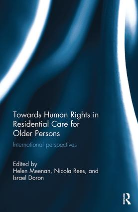 Towards Human Rights in Residential Care for Older Persons: International Perspectives book cover