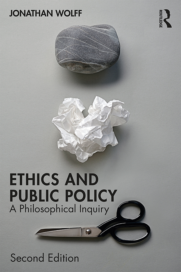 Ethics and Public Policy: A Philosophical Inquiry book cover