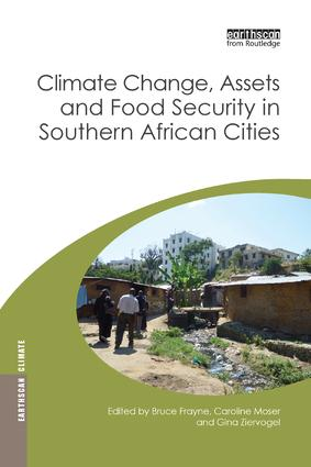 Climate Change, Assets and Food Security in Southern African Cities: 1st Edition (Paperback) book cover