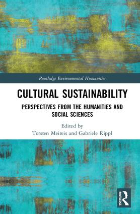 Cultural Sustainability: Perspectives from the Humanities and Social Sciences book cover