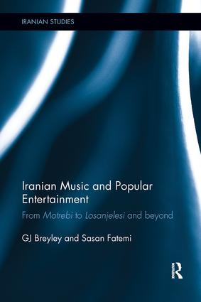 Iranian Music and Popular Entertainment: From Motrebi to Losanjelesi and Beyond, 1st Edition (Paperback) book cover