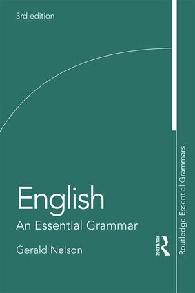 English: An Essential Grammar: 3rd Edition (Paperback) book cover
