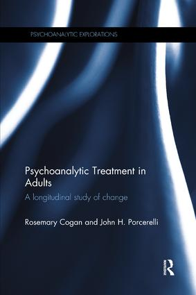 Psychoanalytic Treatment in Adults: A longitudinal study of change book cover