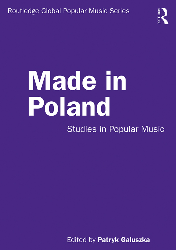 Made in Poland: Studies in Popular Music, 1st Edition (Hardback) book cover