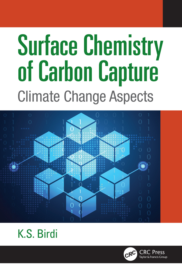 Surface Chemistry of Carbon Capture: Climate Change Aspects, 1st Edition (Hardback) book cover