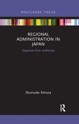 Regional Administration in Japan
