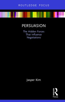 Persuasion: The Hidden Forces That Influence Negotiations book cover