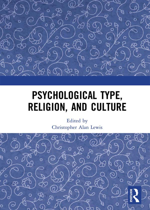 Psychological Type, Religion, and Culture: 1st Edition (Hardback) book cover