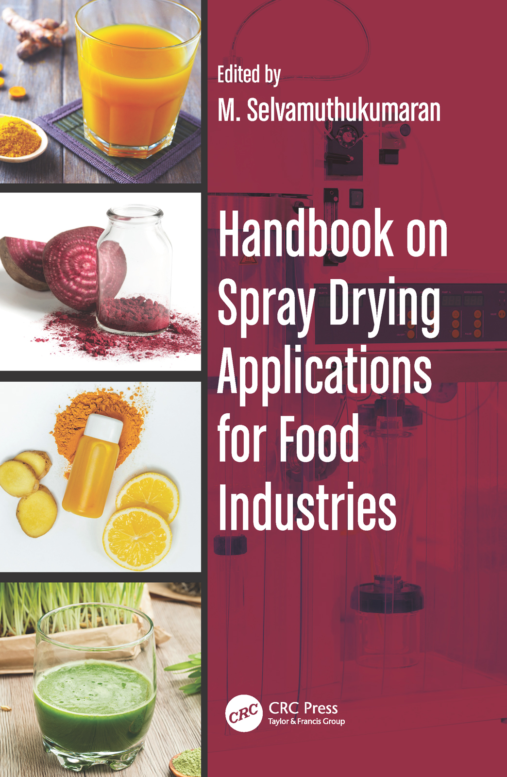 Handbook on Spray Drying Applications for Food Industries book cover