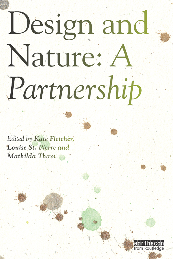 Design and Nature: A Partnership book cover