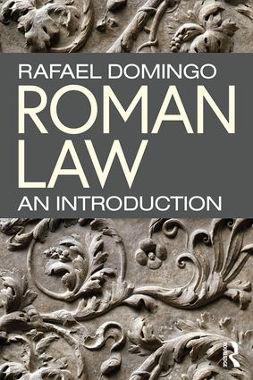 Roman Law: An Introduction (Paperback) book cover
