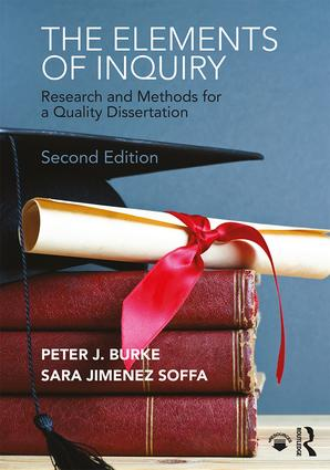 The Elements of Inquiry: Research and Methods for a Quality Dissertation book cover