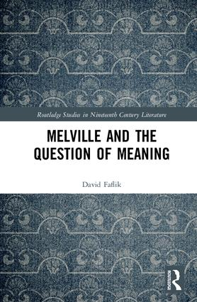 Melville and the Question of Meaning book cover