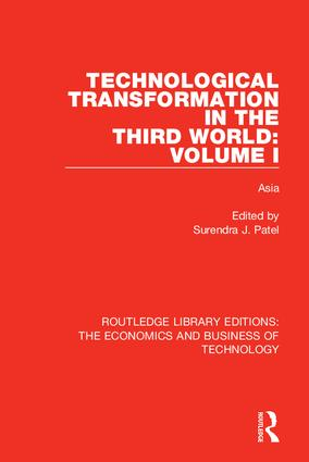 Technological Transformation in the Third World: Volume 1: Asia, 1st Edition (Hardback) book cover
