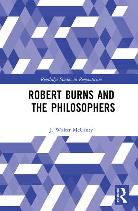 Robert Burns and the Philosophers: 1st Edition (Hardback) book cover