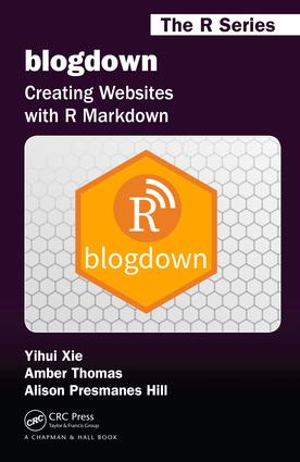 blogdown: Creating Websites with R Markdown book cover