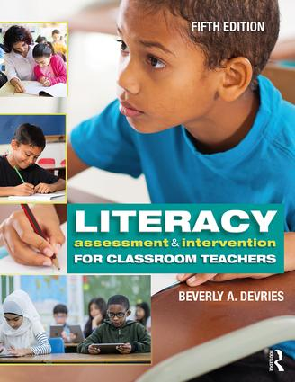 Literacy Assessment and Intervention for Classroom Teachers: 5th Edition (Paperback) book cover