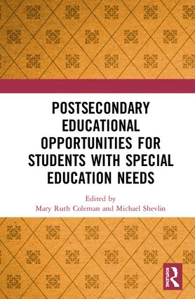 Postsecondary Educational Opportunities for Students with Special Education Needs: 1st Edition (Hardback) book cover