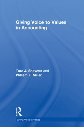 Giving Voice to Values in Accounting book cover