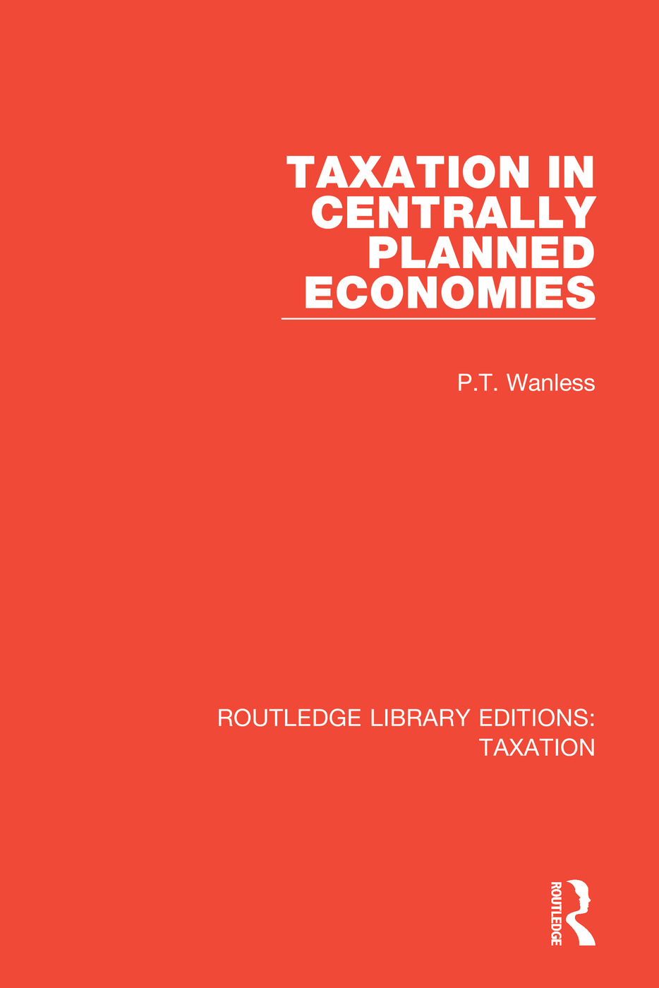 Taxation in Centrally Planned Economies: 1st Edition (Paperback) book cover