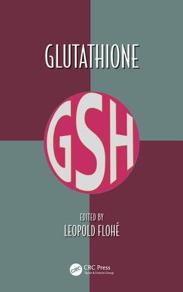 Glutathione: 1st Edition (Hardback) book cover