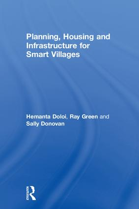 Planning, Housing and Infrastructure for Smart Villages: 1st Edition (Hardback) book cover
