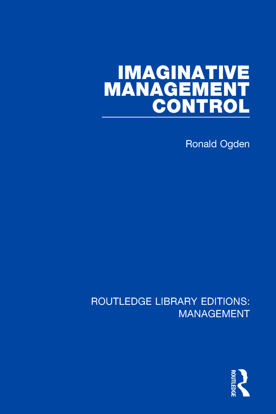 Imaginative Management Control: 1st Edition (Paperback) book cover