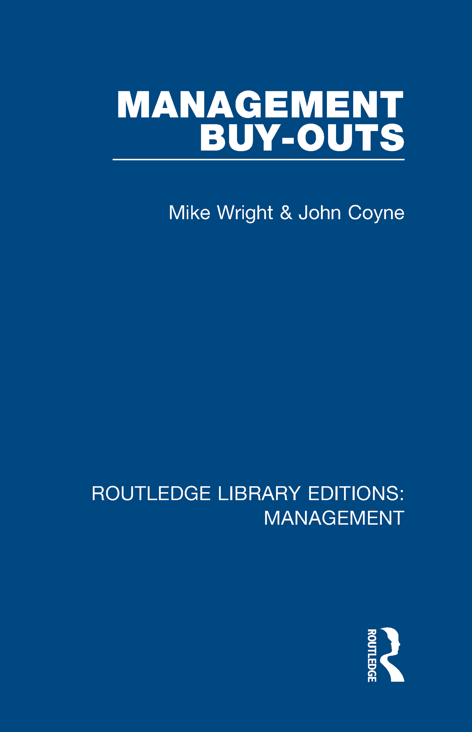 Management Buy-Outs book cover