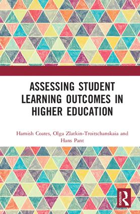 Assessing Student Learning Outcomes in Higher Education: 1st Edition (Hardback) book cover