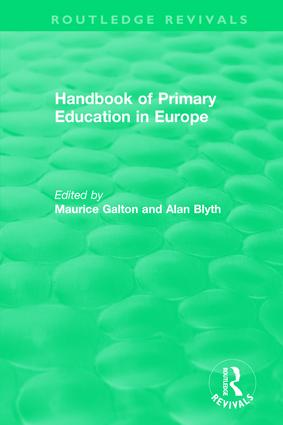 Handbook of Primary Education in Europe (1989) book cover