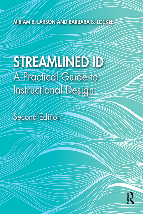 Streamlined ID: A Practical Guide to Instructional Design book cover