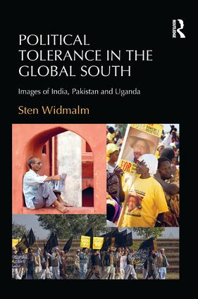 Political Tolerance in the Global South: Images of India, Pakistan and Uganda, 1st Edition (Paperback) book cover
