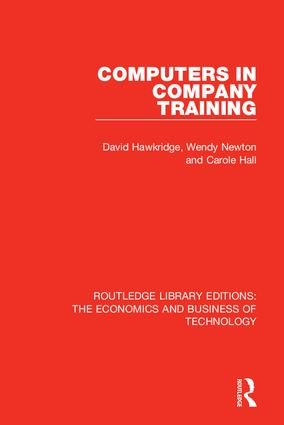 Computers in Company Training book cover