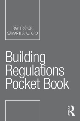 Building Regulations Pocket Book book cover