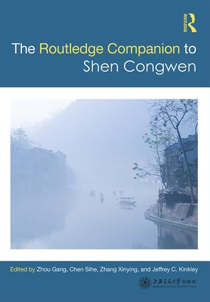 Routledge Companion to Shen Congwen book cover