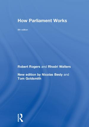 How Parliament Works book cover