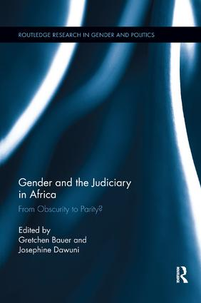Gender and the Judiciary in Africa: From Obscurity to Parity?, 1st Edition (Paperback) book cover