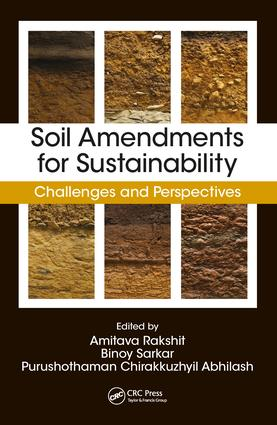 Soil Amendments for Sustainability: Challenges and Perspectives, 1st Edition (Hardback) book cover