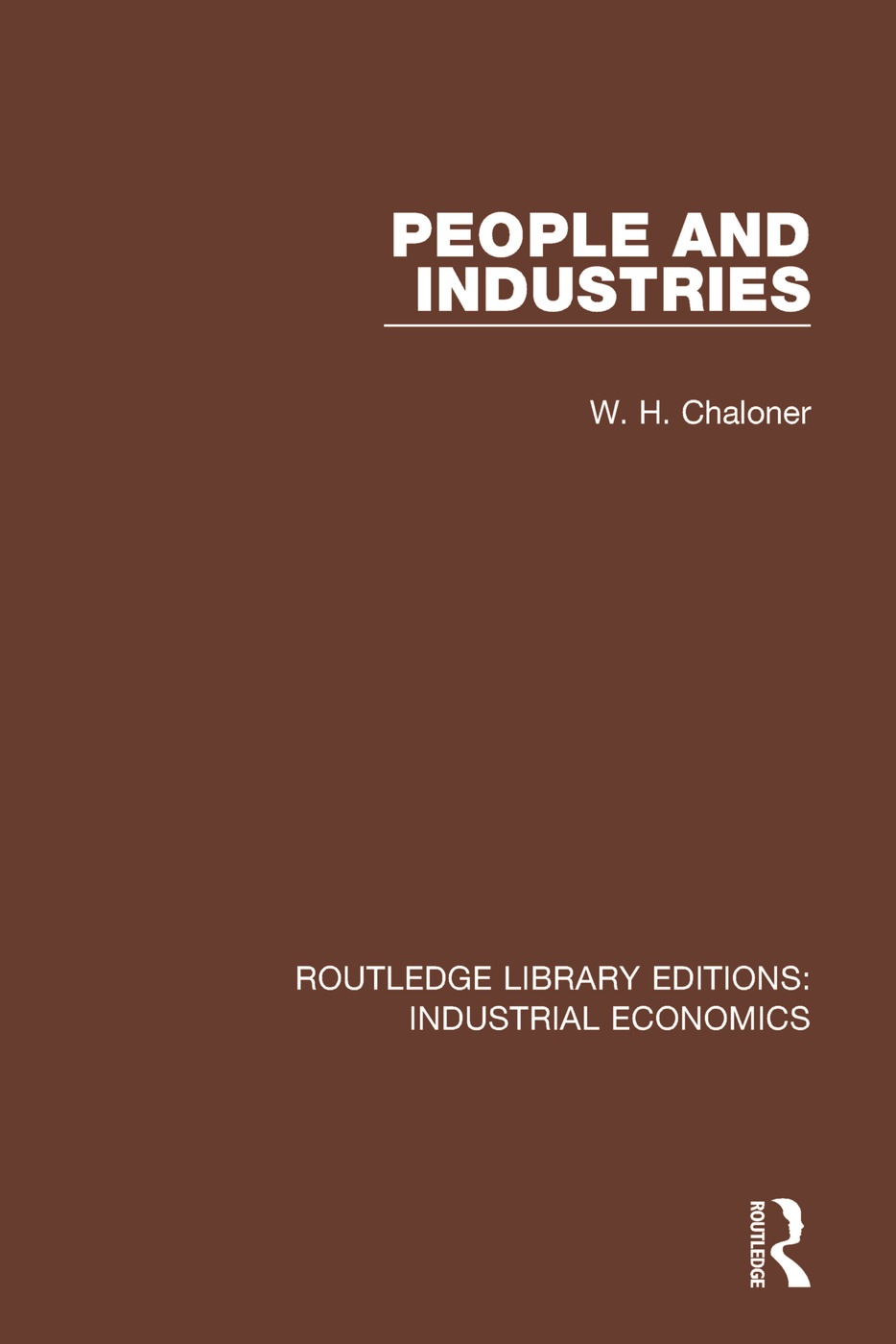 People and Industries book cover