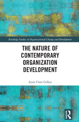 The Nature of Contemporary Organization Development book cover