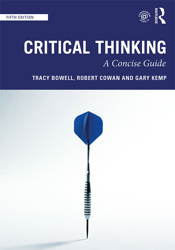 Critical Thinking: A Concise Guide book cover