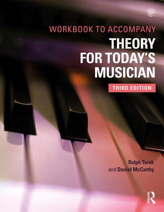 Theory for Today's Musician Workbook, Third Edition book cover