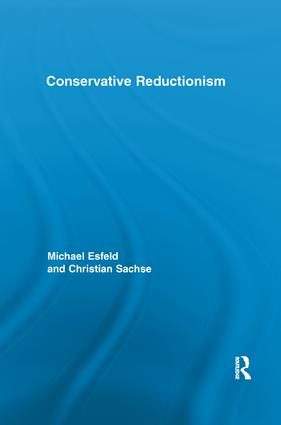 Conservative Reductionism: 1st Edition (Paperback) book cover