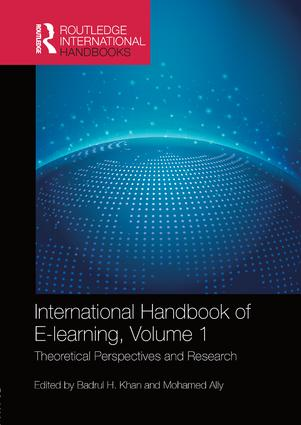 International Handbook of E-Learning Volume 1: Theoretical Perspectives and Research, 1st Edition (e-Book) book cover